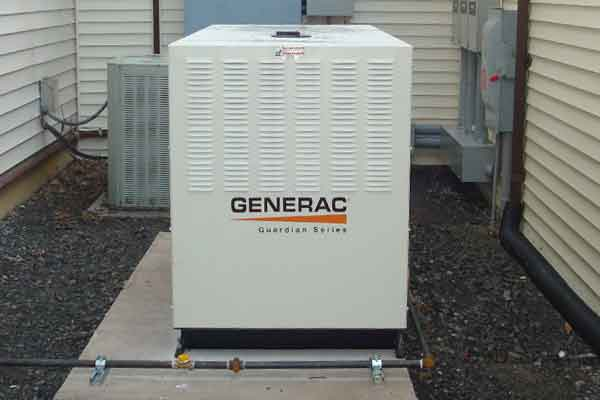 Back up generators