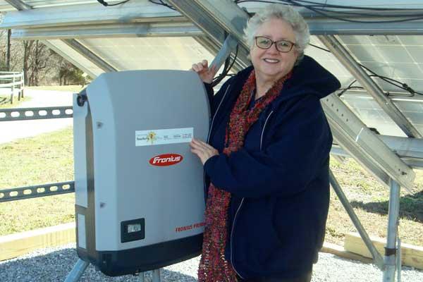 Labeling our solar arrays