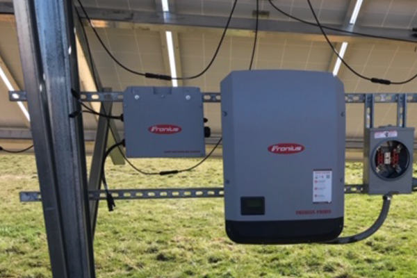 2019 12 KW Campbell Hill, IL solar array